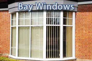 replacement bay double glazed windows in chesterfield close up