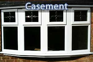 casement replacement double glazed windows in Sheffield close up