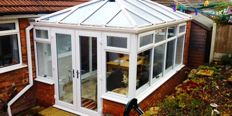 conservatories in sheffield close up