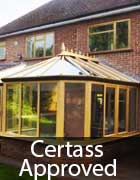 conservatories certass certification accreditation, sheffield, rotherham and chesterfield