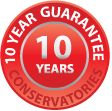 conservatories 10 year guarantee