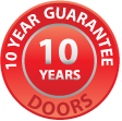 doors 10 year guarantee