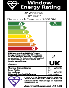 Replacement doors energy rating