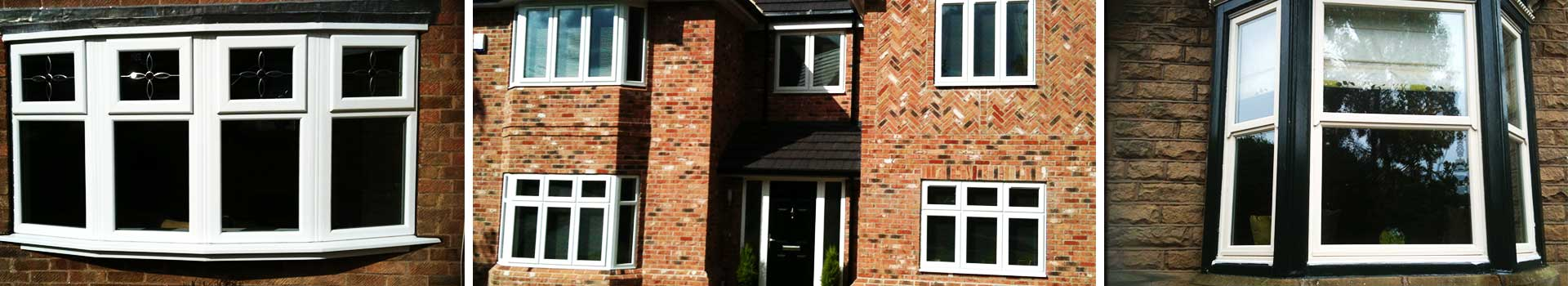 really lovely large brick home with 5 front double glazed windows and a matching exterior front door