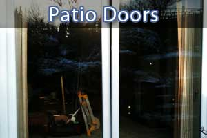 replacement patio doors in chesterfield close up