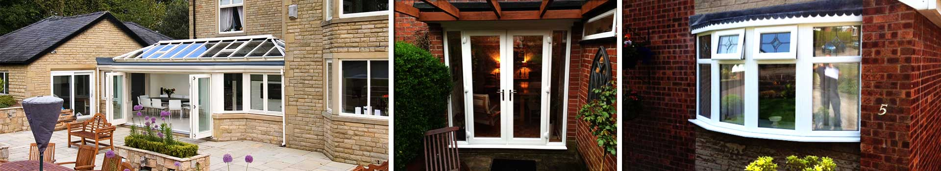 replacemnt sheffield windows installed on a huge family home resulting in a modern contempory look