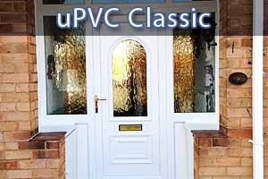 upvc double glazed doors in sheffield close up