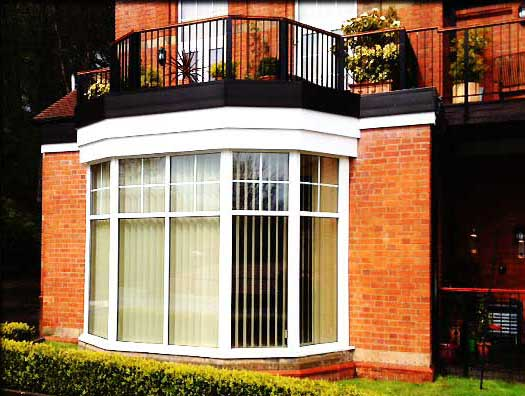 bright white upvc windows installed in a sheffield home