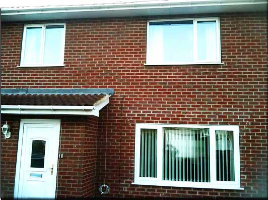 new windows in a chesterfield residential house